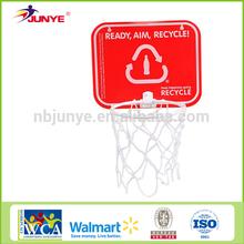 Ningbo Junye prmotional mini basketball board