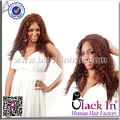 Promoção curly afro estilo para as mulheres negras 100% peruca de cabelo humano