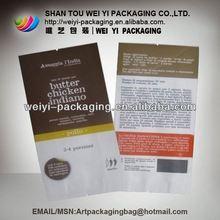 High quality die cut shopping paper bag