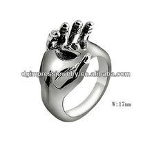 stainless steel men's finger ring