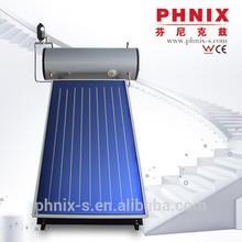 CE hot horizontal vacuum tube solar collector