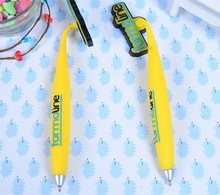 3D animal shape soft pvc ballpoint pen