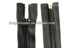 5# zíper de nylon com zíper extremidade aberta a pintado atuo- lock slider zipper casaco
