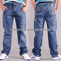 Famous American Baggy Style embroidery boys denim jeans for 2013