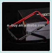 fashion luxury dual color oem aluminum metal bumper case For iphone 5 5s