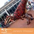 animado andando dinossauro fantasias para adultos