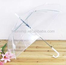 Transparent and clear kids umbrella