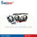 La raíz de china caliente vender equipo dental: 2.5x/3.5x dentales lupas/quirúrgico dental de vidrio de aumento