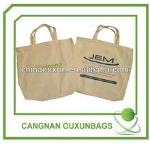 natural organic cotton shopping bag
