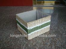 riciclato a buon mercato ingrosso fatti a mano tessuto paglia cestino del pane