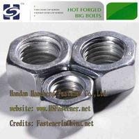 G.i. Hex nut and bolt,high strength fastener, grade 8.8 ISO9001