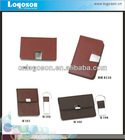 Promotional items office coporate leather gift set