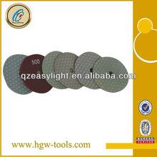 high quality diamond dry polishing pad for marble, granite