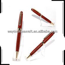 Hot sale fine wooden ballpoint pen