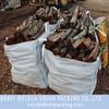 PP woven bag for wood scrap