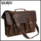 Genuine cow leather cheap portfolio top quality portfolio bag for men