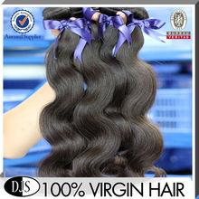 Wholesale factory price natural color body wave european virgin hair