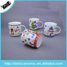 ceramic 13oz christmas snowman coffee mug
