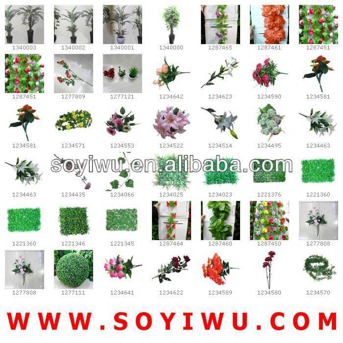 Secado de flores arreglos florales venta al por mayor para la flor Artificial y de la guirnalda