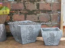 Light concrete pot, light cement pot, lightweight pot