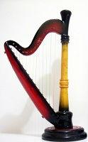 Dd arpao a collezione em miniatura/miniatura harpa coleção