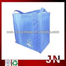 Multifunction Black Non-woven Vegetable Tote Shopping Bag, Non Woven Recyclable Bag