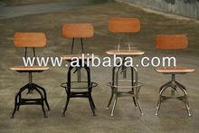 Vintage Toledo stool/bar chair