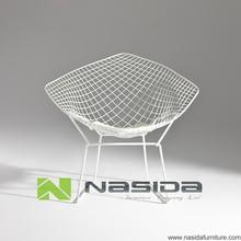 CH117 Replica Harry Bertoia Diamond Wire Lounge Chair
