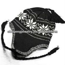 Unisex Knit Earflap Trapper Hat