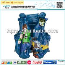 2015 Factory wholesale PVC inflatable life jacket/vest for kids