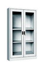 Steel Office Glass Door Cabinet