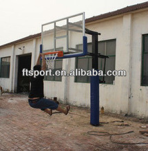 Outdoor Inground height adjustable basketball stand(1.5m~3.05m)