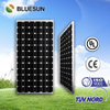 Bluesun High quality ISO CE TUV UL certified sunel solar panel 190w