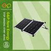 GP fold solar panel 100W solar panel kit