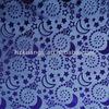 star and moon printed organza fabric/print star and moon fabric/moon and star fabric