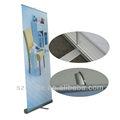 Rollo de lujo para arriba la bandera/marketing/de aluminio roll up stand