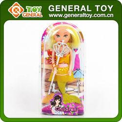 plastic mini doll head, little girl doll models, doll prototypes