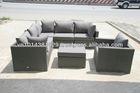 Cheap outdoor wicker furniture rattan sofa set