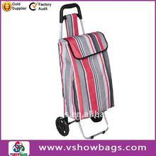New design trolley folding shopping bag