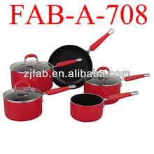 Aluminum cookare set, pot pan made in china