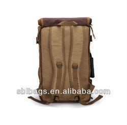 Waterproof outdoor backpacks&bag backpack military &big canvas backpack SBL-1016