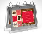 acrylic calendar stand rack