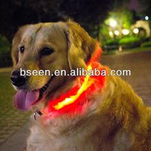 Dog collar manufacturing dog clothing with led lights china