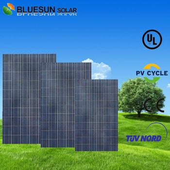 60pcs poly 240W JA polysilicon solar panel