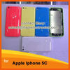 TPU Gel Case for iPhone 5C, Candy Color Silicone TPU Rubber Material Soft Back Cover Case For iPhone 5c Free Shipping
