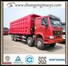 china heavy duty truck 8*4 dump howo truck