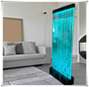led dance water bubble waterfall home room divider