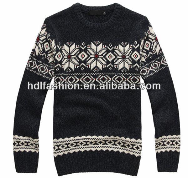 Christmas Jumper Knitting Patterns For Men : Christmas Sweater Jacquard Knitting Pattern Designs For Men - Buy Christmas S...