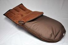 Baby sleeping bag with polar fleece for car seats.