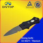 100% Titanium dive Knife diving equipment